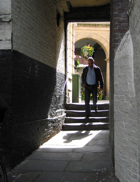 One of the shuts and passages of Shrewsbury