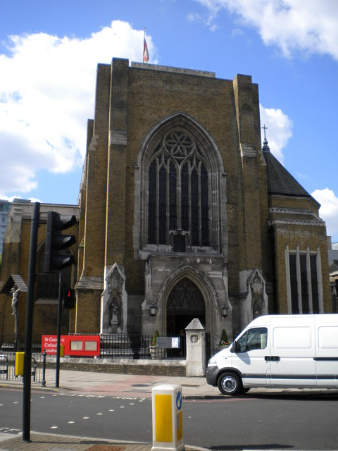 St George's Catholic Cathedral, Lambeth Road SE1