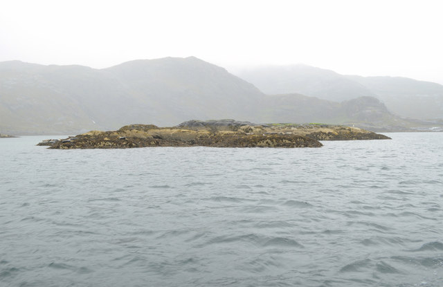 Unnamed island in Loch na Cuilce
