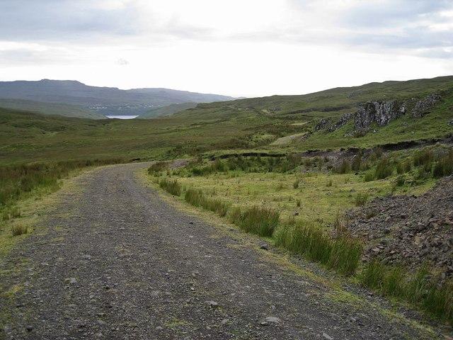 Track through Brae Meadale