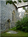 TQ2612 : Blocked door of Poynings church by Shazz