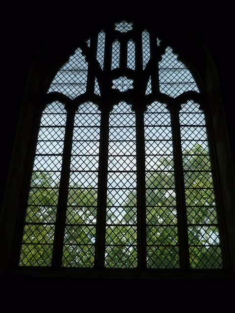 East window in Poynings church