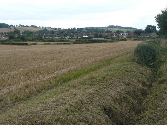View towards Calverton