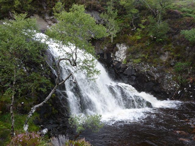 Waterfall on Allt a' Ghamhna