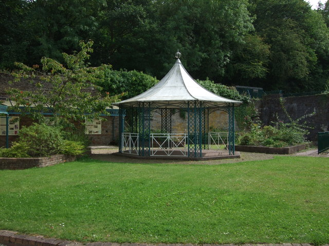 Bandstand Greenfield Valley Heritage trail