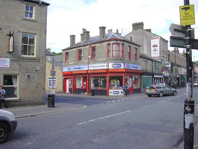 """RSPCA"" St James Street, Bacup, Lancashire OL13 9NJ"