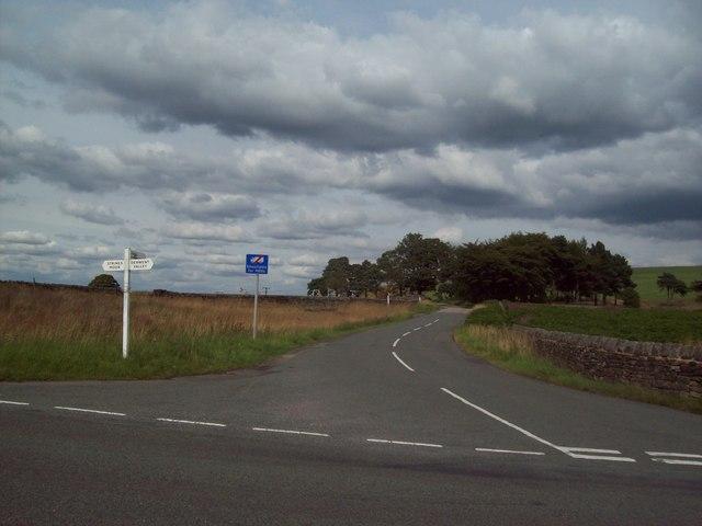 T-Junction  near Moscar