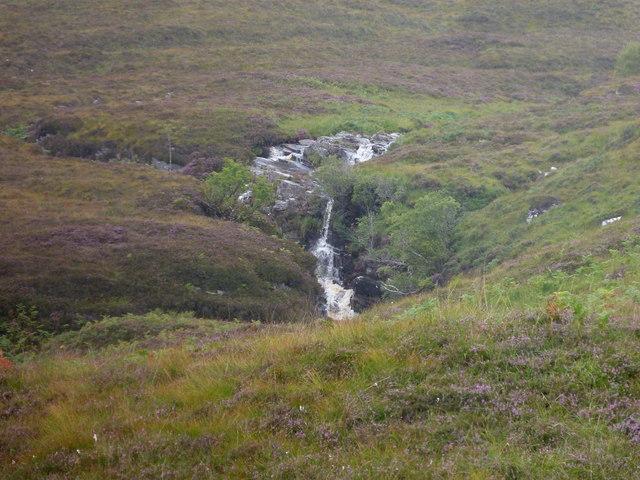 Waterfall on Allt Sgiathaig