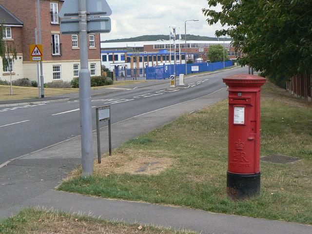 Park Road, Calverton postbox ref. NG14 375