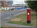 SK6149 : Park Road, Calverton postbox ref. NG14 375  by Alan Murray-Rust