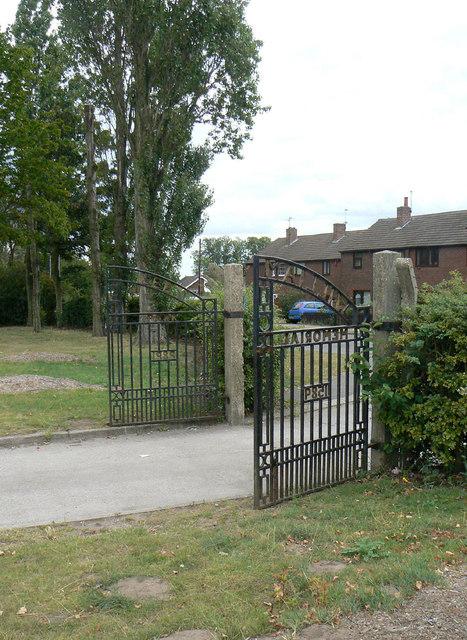 William Lee Memorial Park gates