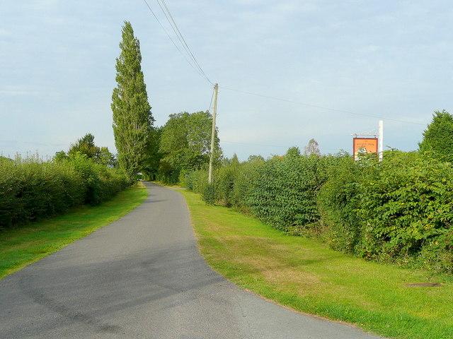 Hiams Lane, Hartpury
