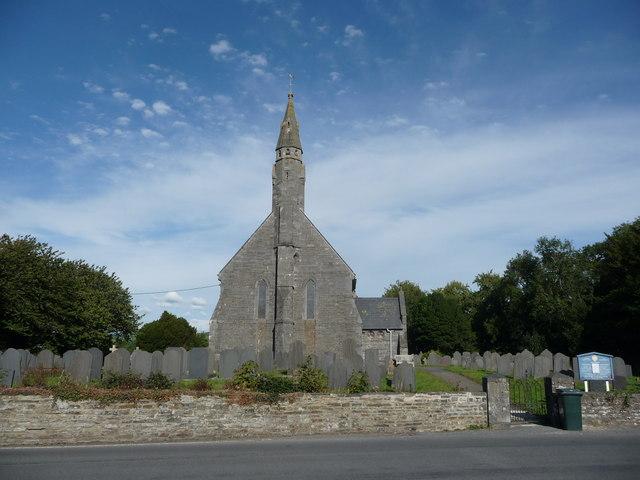 All Saints church, Llangorwen