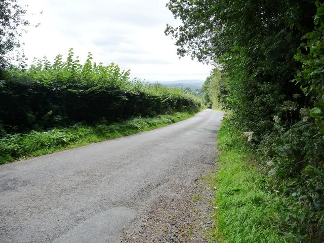 The lane down to Bitterley