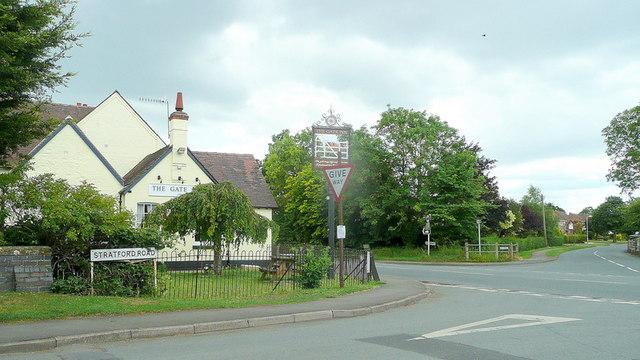 Honeybourne crossroads