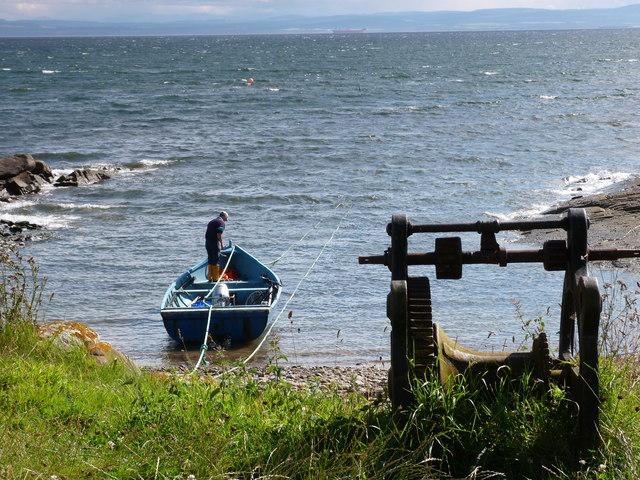 Fisherman at Cadboll Point