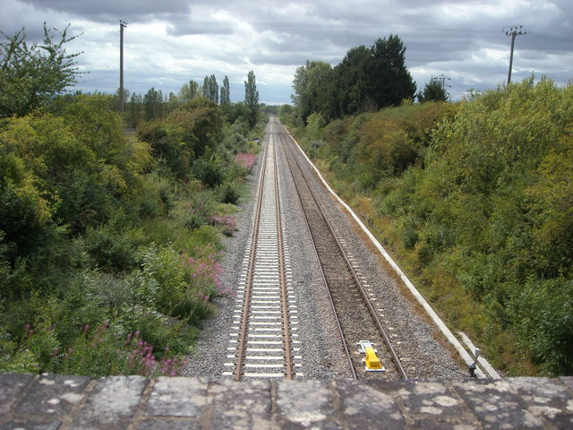 Oxford to Worcester Line