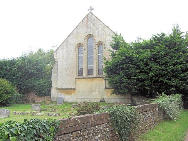 Holy Trinity Church and graveyard