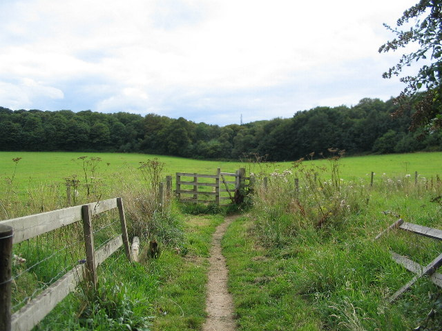 Footpath towards Edward's Plantation