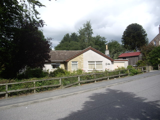 A bungalow on Kincardine Road, Torphins