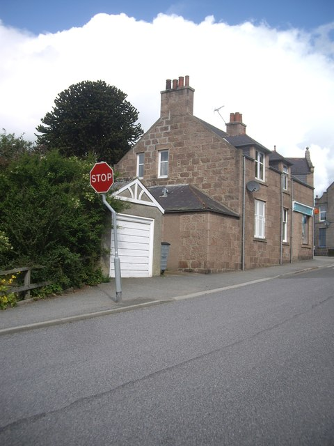Post Office corner, Torphins