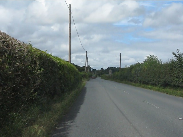 A4110 north of Mortimer's Cross