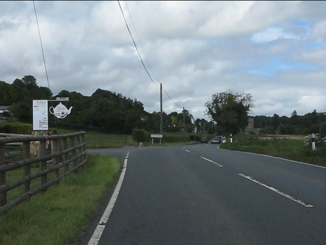 A4110 approaching Aymestrey