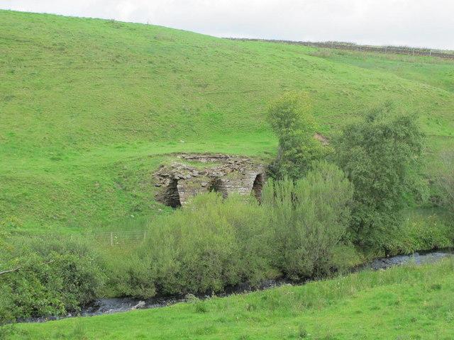 Lime kiln near Haltwhistle Burn (2)
