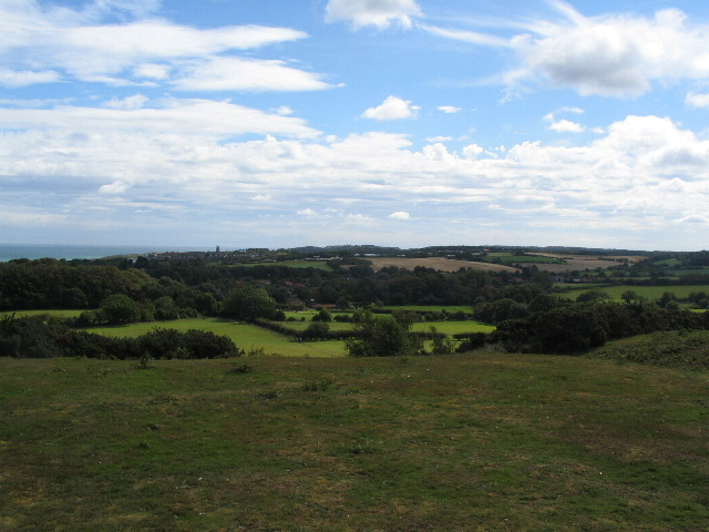 Towards Cromer from Incleborough Hill