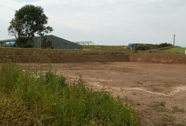 Vacant plot of land on the east side of Totterdown Farm near Hutton