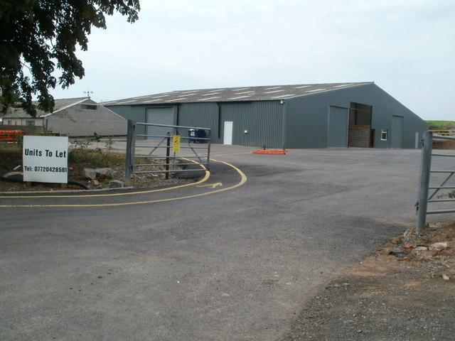 Units to let, Totterdown Farm near Hutton