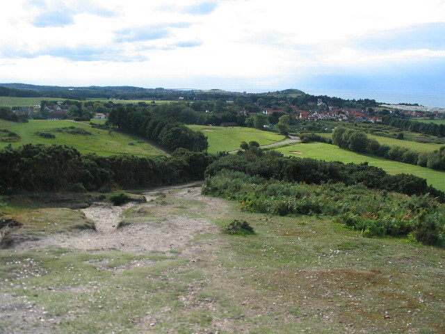 Descent from Incleborough Hill
