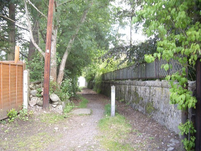 Pathway between Balvenie Road and William Street, Torphins