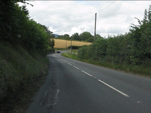 A4110 north of Adforton