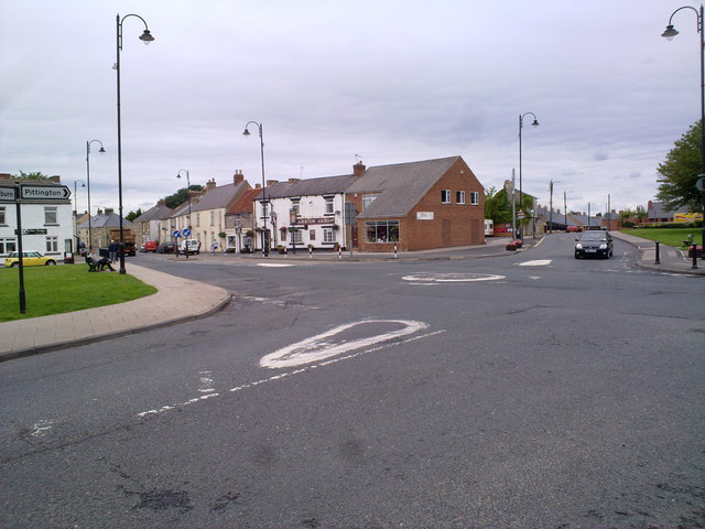Crossroads in Sherburn Village
