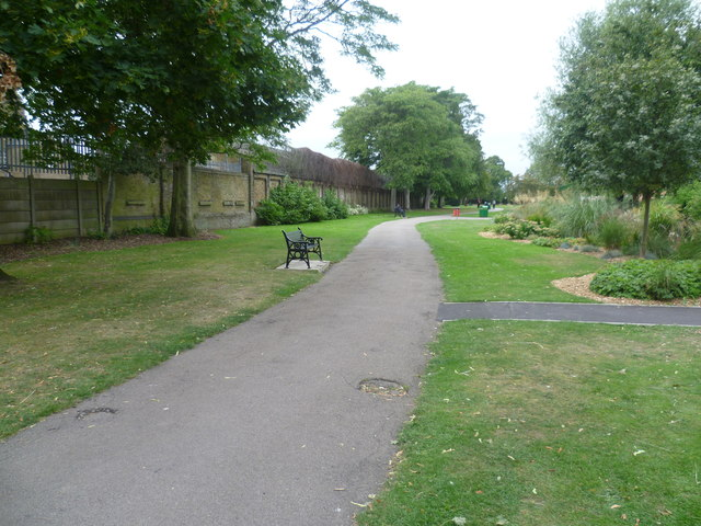 The way in to Beaversfield Park
