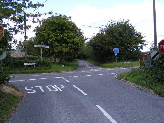 High Road junction with the B1078 Swilland Road