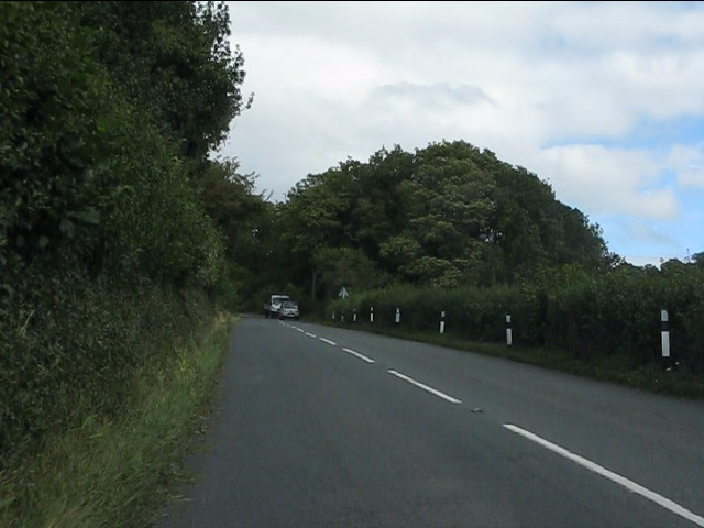 A4113 east of the Jolly Frog pub