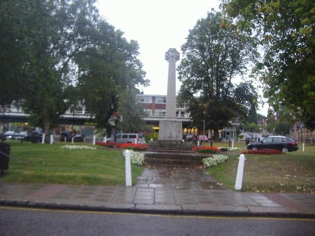 War memorial on Church Green, Harpenden