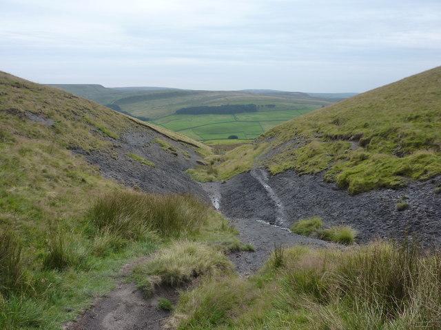 Clough of shale