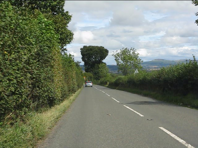 A4113 east of Fiddler's Elbow
