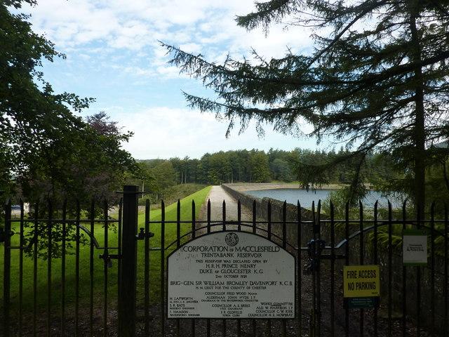 Gates at Trentabank Reservoir