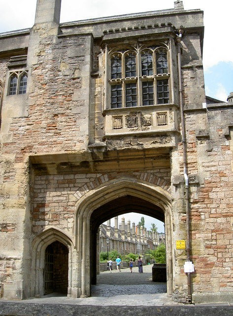 Entrance to Vicar's Close