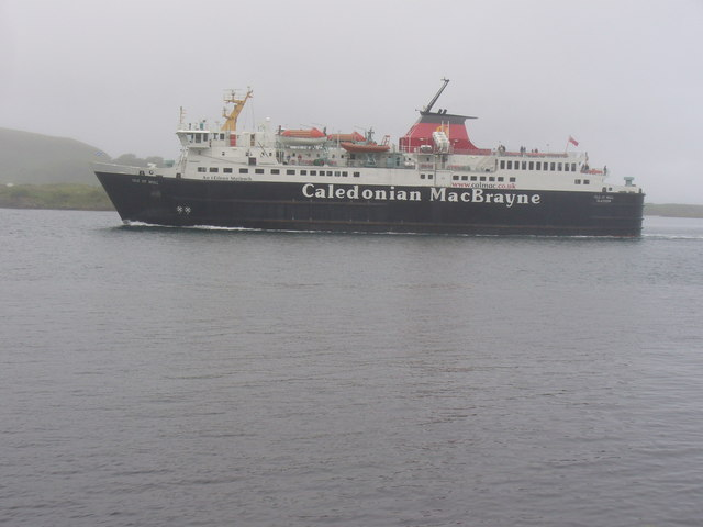 Isle of Mull Entering Oban Bay