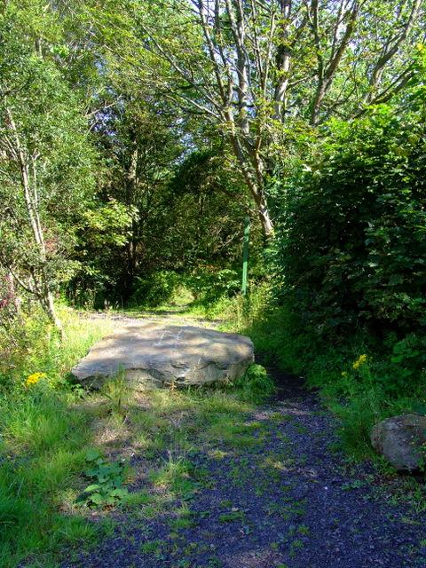Track to Port Bannatyne