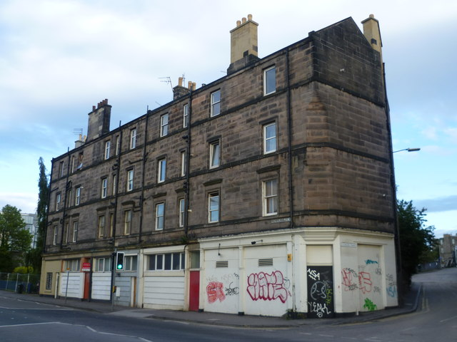 Old tenement, Fountainbridge