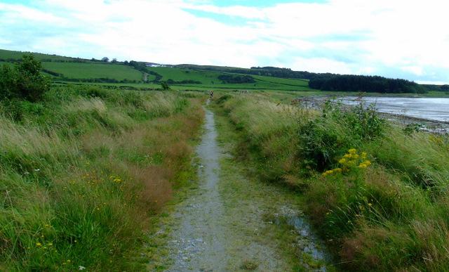 Path at Ettrick Bay