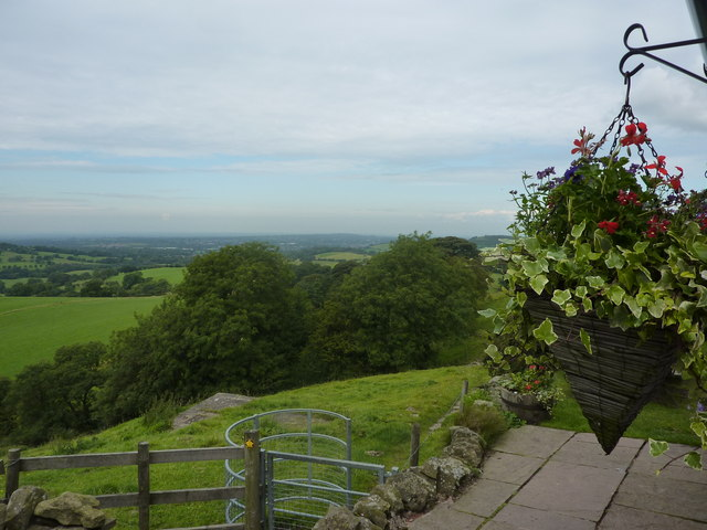 The view from the Hanging Gate