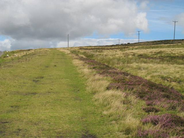 The Weatherhill Incline south of Weather Hill