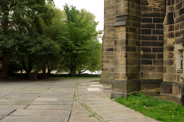 Tower Buttresses, St Paul's Church